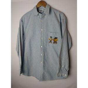 Acme Clothing Co Men's Size Medium LS Button Shirt